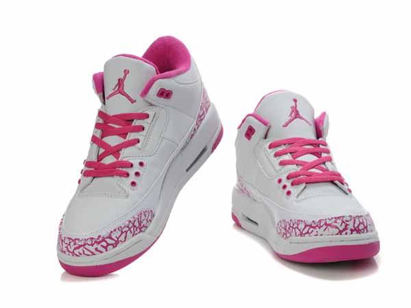 en soldes 6afe5 35927 flight 45 blanche et grise et bleu et rose ,Nike AIR Jordan ...