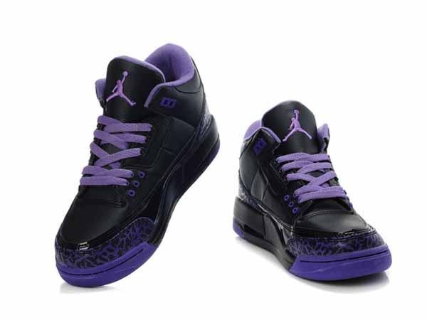 photos officielles fe6bd e74eb blanche montante sigle rouge,Nike AIR Jordan 3 Femme Noir ...