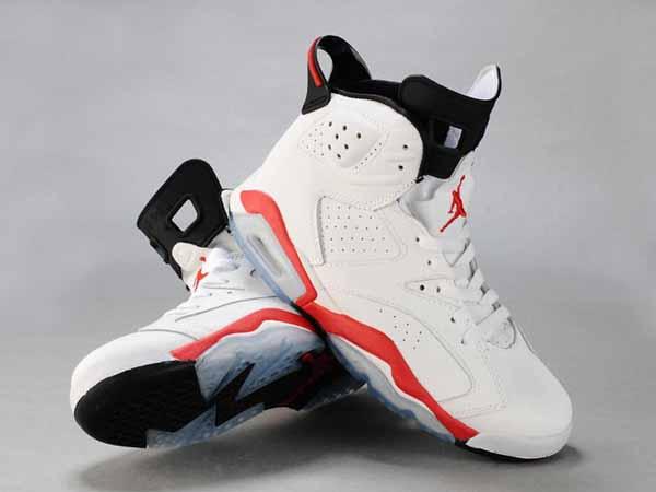 more photos c114a b6b70 chaussure de nike pas cher,Air Jordan 6 VI Retro Faible lanc Rouge Noir