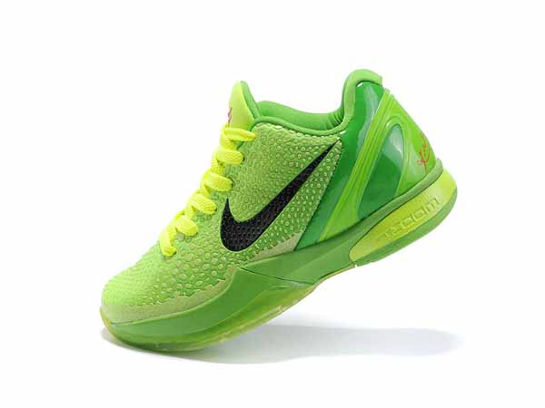 et Nike blanc Vert rose chaussures Kobe 6 air flight Basket Zoom VI qEwRCXpRx